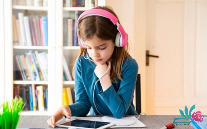 تاثیر آموزش آنلاین زبان انگلیسی برای کودکان