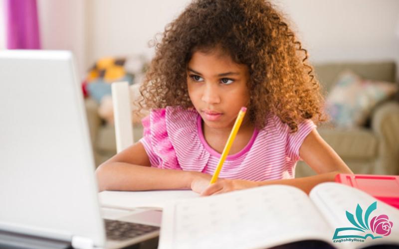 مزایای آموزش آنلاین زبان انگلیسی برای کودکان