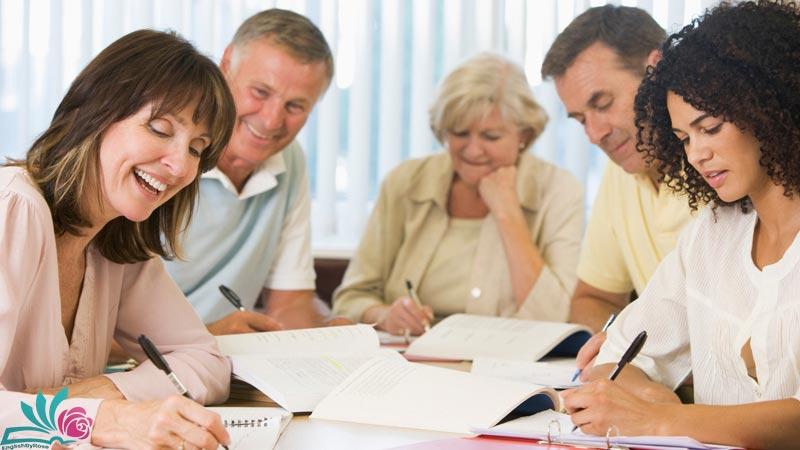 آموزش زبان انگلیسی برای بزرگسالان