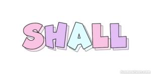 گرامر shall