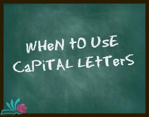 حروف بزرگ در زبان انگلیسی