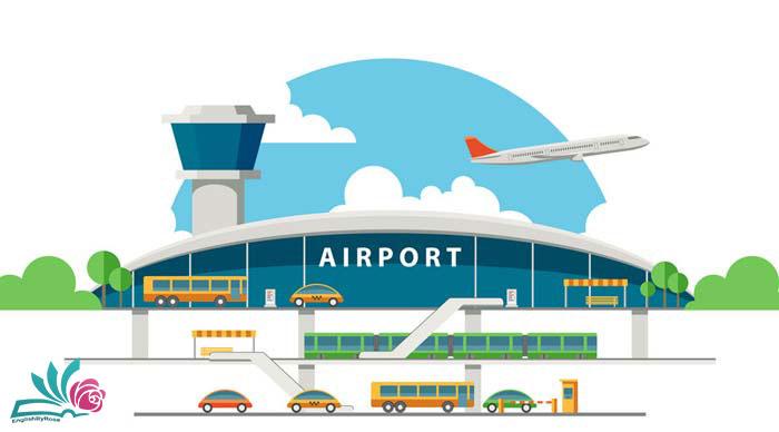 زبان انگلیسی در فرودگاه