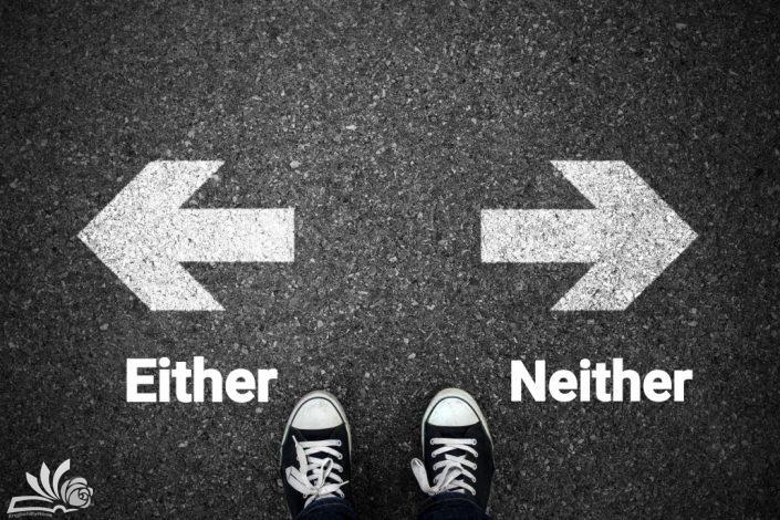 آشنایی با کاربردهای either و Neither